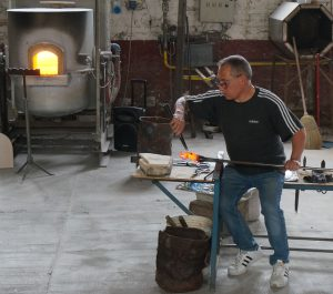 Manufacturing of glass