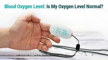 oxygen level in blood